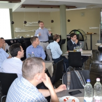 Enterprise Partner Reggeli a Palo Alto Networksszel 2