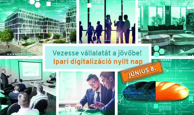 Vezesse vállalatát a jövőbe! – Ipari digitalizáció nyílt nap
