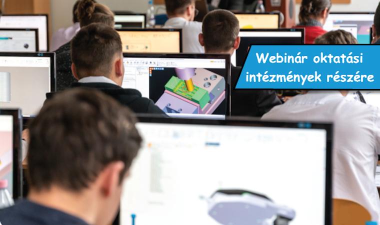 Siemens Solid Edge és HEXAGON EDGECAM oktatási tanmenetbe illesztése – Webinár oktatási intézmények részére - 2020-04-21