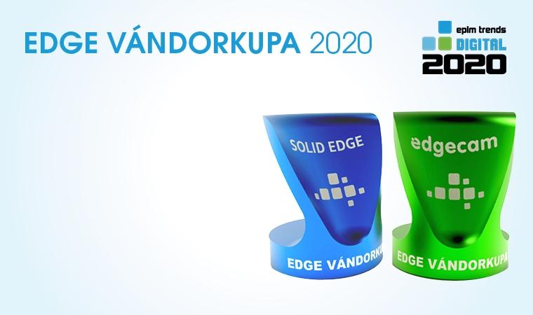 Edge vándorkupa 2020 -Enterprise PLM szakmai díj