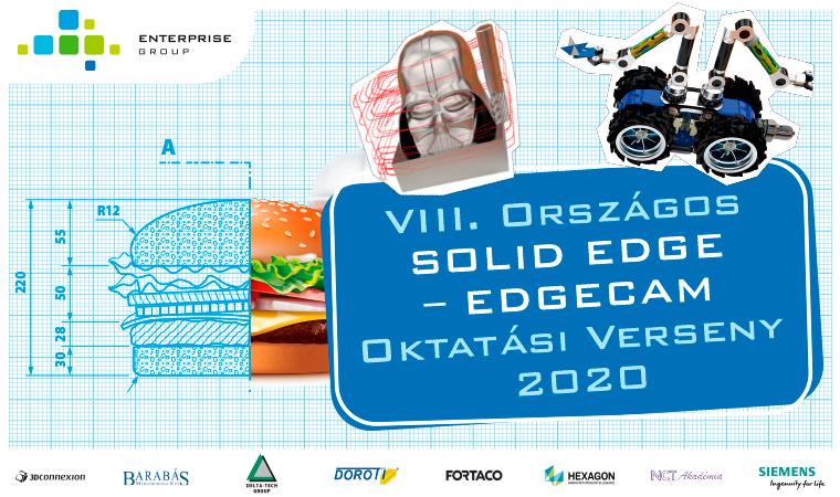 VIII. Országos Solid Edge és Edgecam Verseny 2020