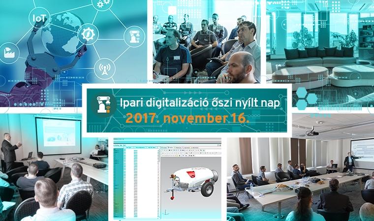 Őszi ipari digitalizációs nyílt nap