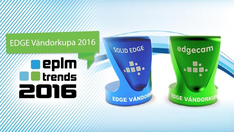 EDGE Vándorkupa 2016 – Enterprise PLM szakmai díj