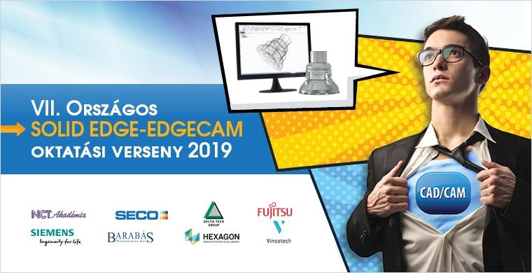VII. Országos Solid Edge és Edgecam Verseny 2019