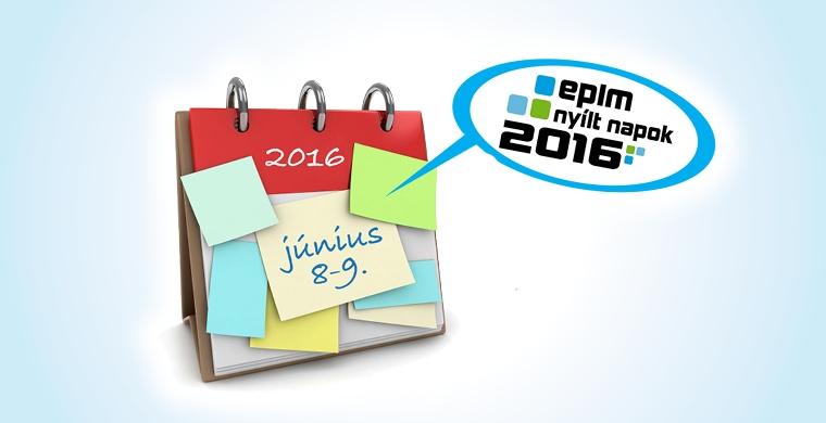 EPLM Nyílt Napok 2016: június 8-9.