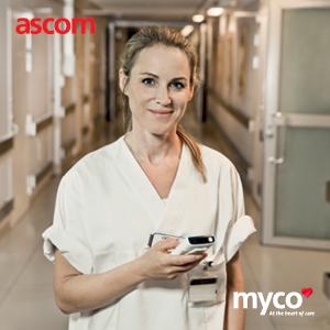 Ascom – egészségügyi munkafolyamat-támogató megoldások