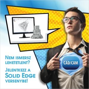 Áprilisban ismét országos CAD és CAM verseny diákok részére!
