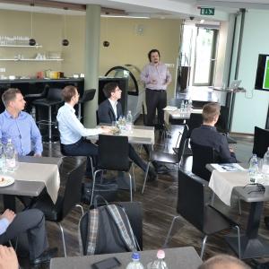 Enterprise Partner Reggeli a Palo Alto Networksszel