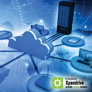 Xpandrive, The Efficient Storage-managing System