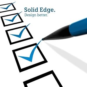 Solid Edge felmérés 2015 – járuljon hozzá Ön is a Solid Edge fejlesztési irányvonalának kialakításához!