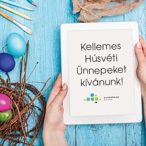 Kellemes Húsvéti Ünnepeket Kíván az Enterprise Group!