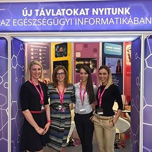 Nagy érdeklődés övezte az Enterprise Group standját a Magyar Kórházszövetség idei Kongresszusán