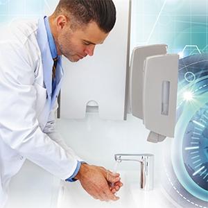 Kéztisztaság – Monitorozó és kontakt fertőzés esélyét csökkentő technológia